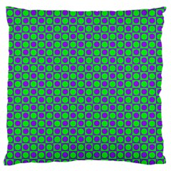 Friendly Retro Pattern A Standard Flano Cushion Case (one Side) by MoreColorsinLife
