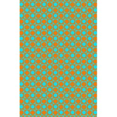 Friendly Retro Pattern D 5 5  X 8 5  Notebooks by MoreColorsinLife