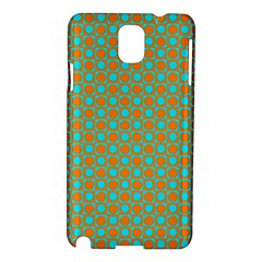 Friendly Retro Pattern D Samsung Galaxy Note 3 N9005 Hardshell Case by MoreColorsinLife