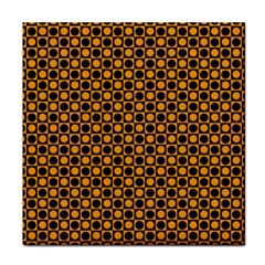 Friendly Retro Pattern F Tile Coasters by MoreColorsinLife