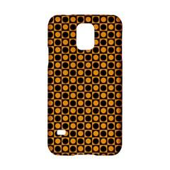Friendly Retro Pattern F Samsung Galaxy S5 Hardshell Case  by MoreColorsinLife