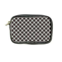 Friendly Retro Pattern H Coin Purse by MoreColorsinLife