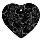 Skulls pattern Ornament (Heart)