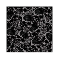 Skulls Pattern Acrylic Tangram Puzzle (6  X 6 ) by ValentinaDesign
