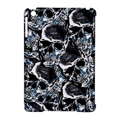 Skulls Pattern Apple Ipad Mini Hardshell Case (compatible With Smart Cover) by ValentinaDesign