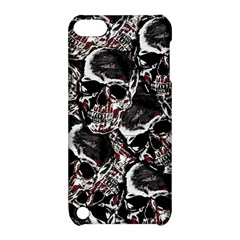 Skulls Pattern Apple Ipod Touch 5 Hardshell Case With Stand by ValentinaDesign