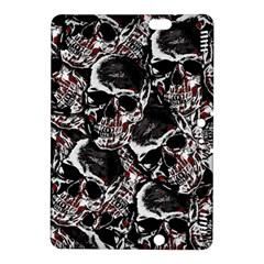 Skulls Pattern Kindle Fire Hdx 8 9  Hardshell Case by ValentinaDesign
