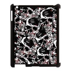 Skull Pattern Apple Ipad 3/4 Case (black) by ValentinaDesign