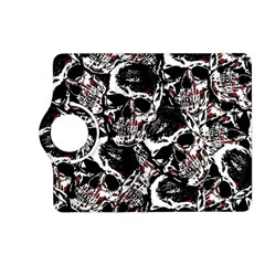 Skull Pattern Kindle Fire Hd (2013) Flip 360 Case by ValentinaDesign