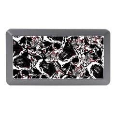 Skull Pattern Memory Card Reader (mini) by ValentinaDesign