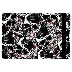 Skull Pattern Ipad Air 2 Flip by ValentinaDesign