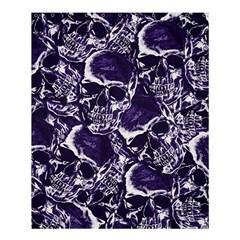 Skull Pattern Shower Curtain 60  X 72  (medium)  by ValentinaDesign