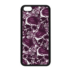 Skull Pattern Apple Iphone 5c Seamless Case (black) by ValentinaDesign