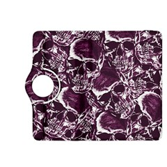 Skull Pattern Kindle Fire Hdx 8 9  Flip 360 Case by ValentinaDesign