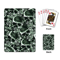 Skull Pattern Playing Card by ValentinaDesign