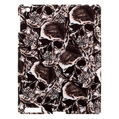 Skull Pattern Apple Ipad 3/4 Hardshell Case by ValentinaDesign