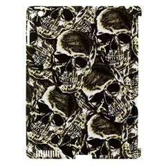 Skull Pattern Apple Ipad 3/4 Hardshell Case (compatible With Smart Cover) by ValentinaDesign
