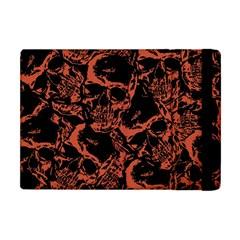 Skull Pattern Apple Ipad Mini Flip Case by ValentinaDesign