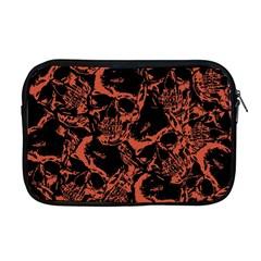 Skull Pattern Apple Macbook Pro 17  Zipper Case by ValentinaDesign