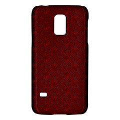 Floral Pattern Galaxy S5 Mini by ValentinaDesign