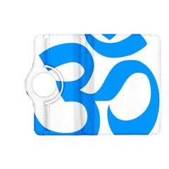 Hindu Om Symbol (ocean Blue) Kindle Fire Hd (2013) Flip 360 Case by abbeyz71