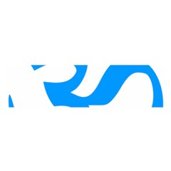 Hindu Om Symbol (ocean Blue) Satin Scarf (oblong) by abbeyz71