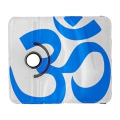 Hindu Om Symbol (ocean Blue) Galaxy S3 (flip/folio) by abbeyz71