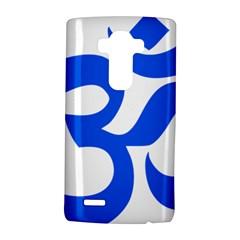 Hindu Om Symbol (blue) Lg G4 Hardshell Case by abbeyz71