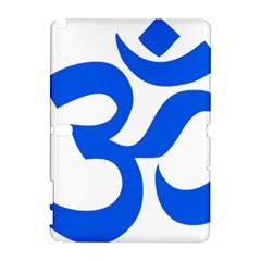 Hindu Om Symbol (blue) Galaxy Note 1 by abbeyz71