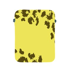 Banner Polkadot Yellow Grey Spot Apple Ipad 2/3/4 Protective Soft Cases by Mariart