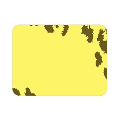 Banner Polkadot Yellow Grey Spot Double Sided Flano Blanket (mini)  by Mariart