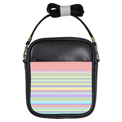 All Ratios Color Rainbow Pink Yellow Blue Green Girls Sling Bags by Mariart