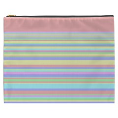 All Ratios Color Rainbow Pink Yellow Blue Green Cosmetic Bag (xxxl)  by Mariart