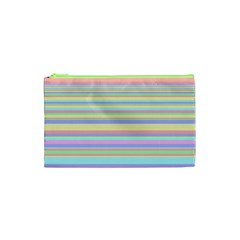 All Ratios Color Rainbow Pink Yellow Blue Green Cosmetic Bag (xs) by Mariart