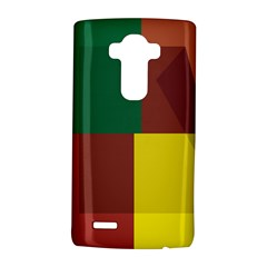 Albers Out Plaid Green Pink Yellow Red Line Lg G4 Hardshell Case by Mariart