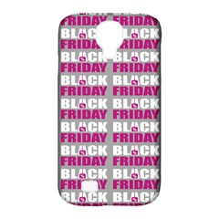 Black Friday Sale White Pink Disc Samsung Galaxy S4 Classic Hardshell Case (pc+silicone) by Mariart