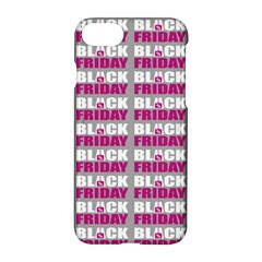 Black Friday Sale White Pink Disc Apple Iphone 7 Hardshell Case by Mariart