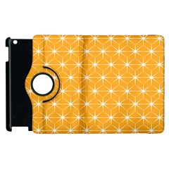 Yellow Stars Iso Line White Apple Ipad 3/4 Flip 360 Case by Mariart