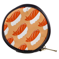 Fish Eat Japanese Sushi Mini Makeup Bags by Mariart