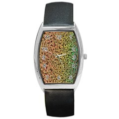 Crystals Rainbow Barrel Style Metal Watch by Mariart