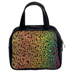 Crystals Rainbow Classic Handbags (2 Sides) by Mariart