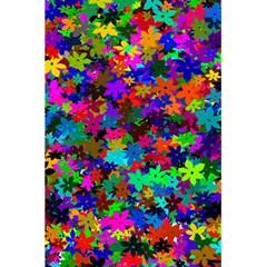 Flowersfloral Star Rainbow 5 5  X 8 5  Notebooks by Mariart