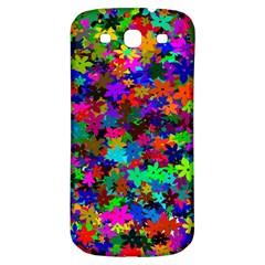 Flowersfloral Star Rainbow Samsung Galaxy S3 S Iii Classic Hardshell Back Case by Mariart