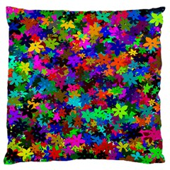 Flowersfloral Star Rainbow Standard Flano Cushion Case (two Sides) by Mariart