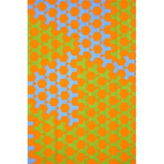 Green Blue Orange 5 5  X 8 5  Notebooks by Mariart