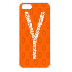 Iron Orange Y Combinator Gears Apple Iphone 5 Seamless Case (white) by Mariart