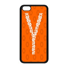 Iron Orange Y Combinator Gears Apple Iphone 5c Seamless Case (black) by Mariart