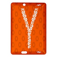 Iron Orange Y Combinator Gears Amazon Kindle Fire Hd (2013) Hardshell Case by Mariart