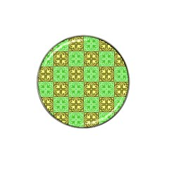 Clipart Aztec Green Yellow Hat Clip Ball Marker (4 Pack) by Mariart