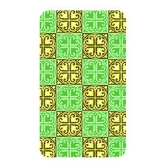 Clipart Aztec Green Yellow Memory Card Reader by Mariart